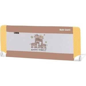 Защитный барьер для кроватки Lorelli 1018002 Бежево-желтый / Beige&Yellow Family 1803