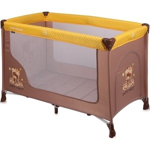 Манеж Lorelli San Remo 1 Бежево-желтый / Beige&Yellow Happy Family 1803 happy baby duck family