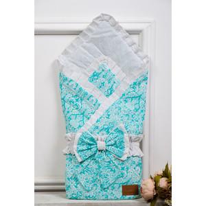 Одеяло на выписку AmaroBaby ЭЛИТ ( мята, поплин/бязь )