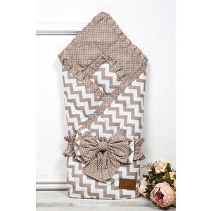 Одеяло на выписку AmaroBaby Zig Zag ( кофе, поплин/бязь ) коврик против скольжения zig zag 5мм 0 9м черный