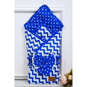 цена на Одеяло на выписку AmaroBaby Zig Zag ( синий, поплин/бязь )