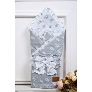 Одеяло на выписку AmaroBaby HAPPY (Серый, поплин/бязь)