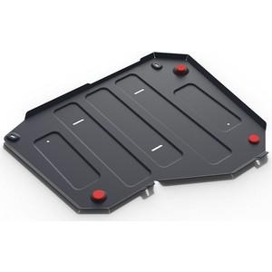 Защита топливного бака АвтоБРОНЯ для Chery Tiggo 3 FWD (2014-н.в.) / 5 FWD (2014-н.в.) / Lifan X70 FWD, сталь 2 мм, 111.03319.1 фото