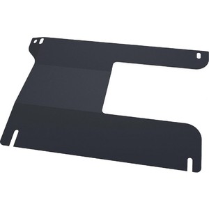 Защита РК АвтоБРОНЯ для Ford Ranger (2007-2012) / Mazda BT 50 (2006-2011), сталь 2 мм, 111.01810.1 цена и фото