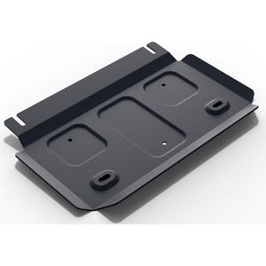 Защита РК АвтоБРОНЯ для Foton Sauvana 4WD (2017-н.в.) / Tunland 4WD (2017-н.в.), сталь 2 мм, 111.04404.1 защита кпп сталь толщина 2 мм автоброня 111 04403 1 для foton sauvana 2015 2019
