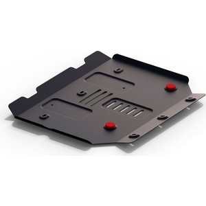 Защита радиатора АвтоБРОНЯ для Haval H9 (2015-н.в.), сталь 2 мм, 111.09407.1
