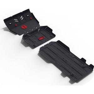 Защита радиатора, картера, КПП и РК АвтоБРОНЯ для Lexus GX 460 (2009-н.в.) / Toyota LC 150 (2009-н.в.), сталь 2 мм, K111.09516.1