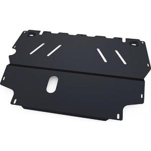 Защита картера и КПП АвтоБРОНЯ для Seat Alhambra (2013-2016), сталь 2 мм, 111.05001.1