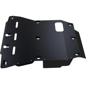 Защита картера и КПП АвтоБРОНЯ для Toyota Land Cruiser 76 (2010-2015), сталь 2 мм, 111.05757.1