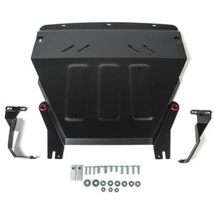 Защита картера и КПП АвтоБРОНЯ для Ford Ecosport (2018-н.в.), сталь 2 мм, 111.01870.1