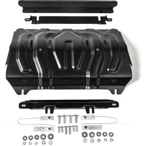 Купить Защита радиатора АвтоБРОНЯ для Mitsubishi L200 (2015-н.в.), сталь 2 мм, 111.04046.2