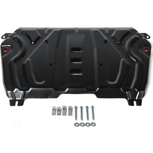 Защита картера и КПП Big АвтоБРОНЯ для Lexus ES XV70 (2018-н.в.) / Toyota Camry XV70 (2018-н.в.), сталь 2 мм, 111.09518.2