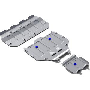 Защита картера, КПП и РК Rival для Bentley Bentayga (2016-н.в.), алюминий 4 мм, K333.0401.1