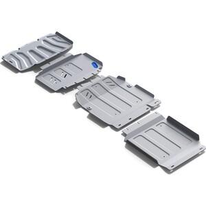 Защита радиатора, картера, КПП и РК Rival для Mercedes X-Class 4WD (2018-н.в.), алюминий 4 мм, K333.3943.1 защита картера rival для mercedes s class rwd 2013 н в алюминий 4 мм 333 3912 1