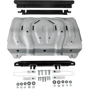 Защита радиатора Rival для Fiat Fullback / Pajero Sport (2016-н.в.) / Mitsubishi L200 (2015-н.в.), алюминий 4 мм, 333.4046.2 replikey rk589q mitsubishi pajero sport l200 7x16 6x139 7 d107 5 et10 gmf