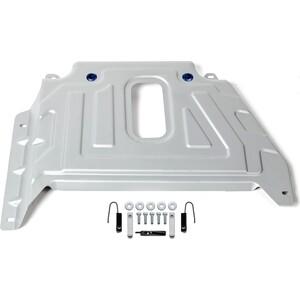 Защита кислородного датчика Rival для Nissan Terrano 4WD / Renault Duster 4WD / Kaptur 4WD (2016-н.в.) алюминий 4 мм, 333.4725.2 защита редуктора rival для nissan terrano 4wd 2014 н в renault duster 4wd 2011 н в kaptur 4wd 2016 н в алюминий 4мм 333 4719 1