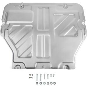 Защита картера и КПП Rival для Volkswagen Caravelle, Multivan, Transporter T5 / T6 (2003-н.в.), алюминий 4 мм, 333.5806.2 защита редуктора автоброня для volkswagen caravelle multivan transporter t5 t6 4wd 2003 н в сталь 2 мм 111 05845 1