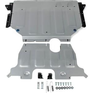 Защита картера и КПП Rival для Volkswagen Teramont 4WD (2018-н.в.), алюминий 4 мм, 333.5861.1 цена