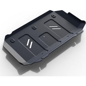 Защита радиатора Rival для Foton Sauvana 4WD (2017-н.в.) / Tunland (2017-н.в.), сталь 2 мм, с крепежом, 111.4401.1