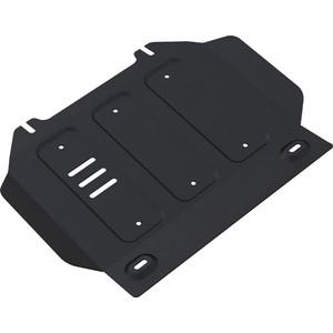 Защита картера Rival для Isuzu D-Max II (2012-н.в.), сталь 3 мм, с крепежом, 222.9102.1