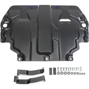Защита картера и КПП Rival для Seat Altea (2004-2014) / Cordoba II (2003-2009 Leon (2005-2013) Toledo III (2004-2009), сталь 2 мм, 111.5107.1