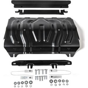 Купить Защита радиатора Rival для Mitsubishi L200 (2015-н.в.), сталь 2 мм, 111.4046.2