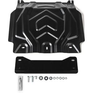 Защита картера Rival для Fiat Fullback (2016-н.в.) / Mitsubishi L200 V (2015-2018 / 2018-н.в.) / Pajero Sport III (2016-н.в.), сталь 3 мм, 222.4041.2 защита стенок кузова и заднего стекла диаметр 76 мм tcc fiaful16 16 для fiat fullback 2016