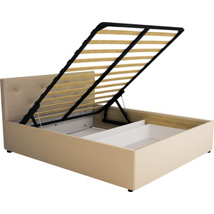 Кровать Комфорт - S Габриэль 160 (пм+ящик) манго 009/№1 (ромбы)