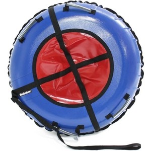 Тюбинг Hubster Ринг синий-красный 90 см майка print bar ринг