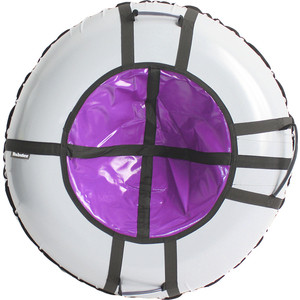 Тюбинг Hubster Ринг серый-фиолетовый 90 см 4312-1