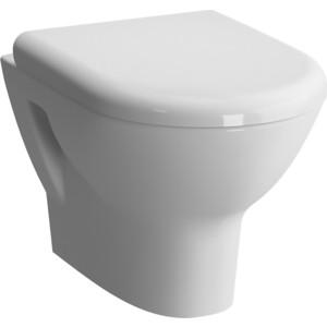 Унитаз подвесной Vitra Zentrum с биде,сиденье микролифт (5785B003-0850, 801-003-009) сидение vitra d light микролифт 104 003 009