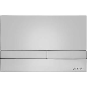 Кнопка смыва Vitra Select хром (740-1121) кнопка смыва vitra loop r хром 740 0680