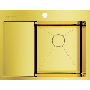Кухонная мойка Omoikiri Akisame 65-LG-R светлое золото (4973084)
