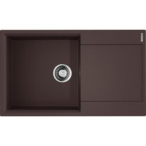 Кухонная мойка Omoikiri Daisen 86-DC темный шоколад (4993699)