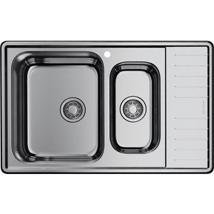 Кухонная мойка Omoikiri Sagami 79-2-IN-L нержавеющая сталь (4993447)