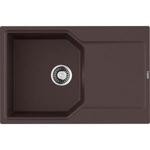 Кухонная мойка Omoikiri Yonaka 78-DC темный шоколад (4993707)