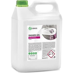 Гель GRASS для чистки труб Digger-Gel, 5 л средство для чистки и дезинфекции deso 5 кг grass 125191