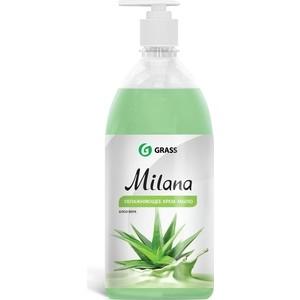 Жидкое крем-мыло GRASS Milana алоэ вера, 1 л