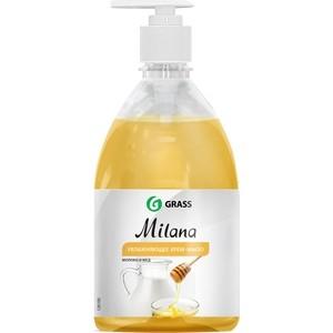 Жидкое крем-мыло GRASS Milana молоко и мед , 500 мл