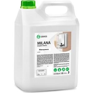 Жидкое крем-мыло GRASS Milana жемчужное , 5л