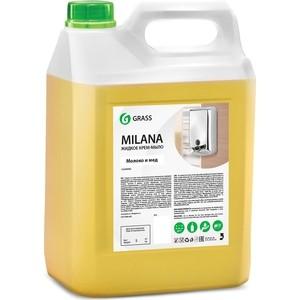 Жидкое крем-мыло GRASS Milana молоко и мед , 5л