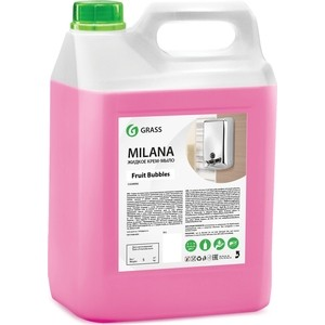 Жидкое мыло GRASS Milana fruit bubbles, 5л
