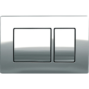 Кнопка смыва Koller Pool Kvadro Chrome хром