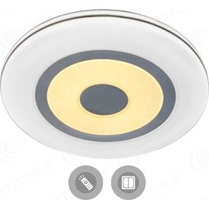Управляемый светодиодный светильник Estares QUADRON DOUBLE 136W R-760-WHITE-220-IP44