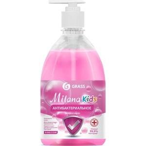 Жидкое мыло GRASS антибактериальное Milana Kids Fruit bubbles , 500 мл