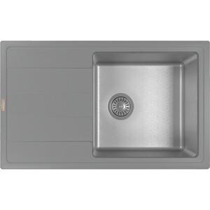Кухонная мойка Florentina Комби 780 грей (21.395.D0780.305)