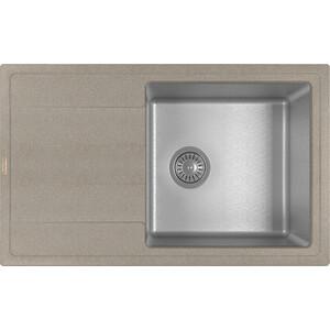 Кухонная мойка Florentina Комби 780 песочный (21.395.D0780.107)