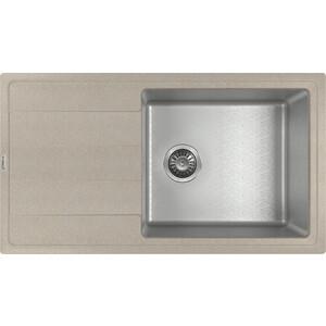 Кухонная мойка Florentina Комби 860 песочный (21.400.D0860.107) мойка florentina нире 480 грей