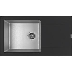 Кухонная мойка Florentina Комби 860 черный (21.400.D0860.102)