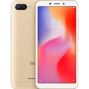 Смартфон Xiaomi Redmi 6 3/32GB Gold смартфон lg q6 m700an 32gb black gold